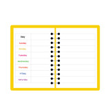 notebook weekly planner