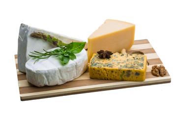 Variety cheese assortment