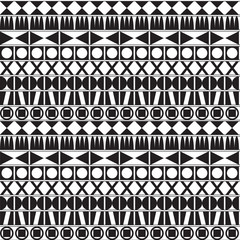 Monochrome geometric background