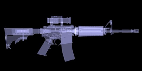 American rifle