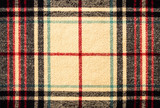 Fabric tartan plaid pattern as background