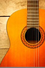classical left hand guitar