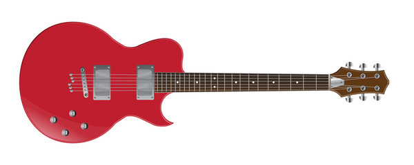 electric guitar vector images
