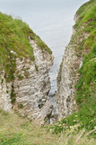 Coastal view of Flamborough Head Yorkshire