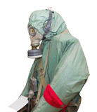 Protective military chemical warfare suit