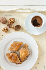 Baklava, delicious pastry dessert
