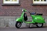 Vespa 150vbb px green