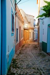 Eine Strasse in der Algarve