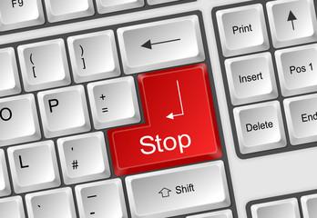 Tastatur Stop