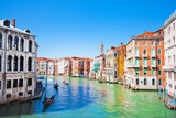 Scenic view of Canal Grande in Venice, Italy poster