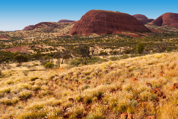 Kata Tjuta (The Olgas), Northern Territory, Australia
