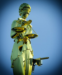 Steps to justice - Lady of Justice is waiting to kill