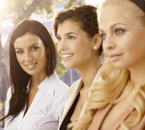 Portrait of attractive businesswomen