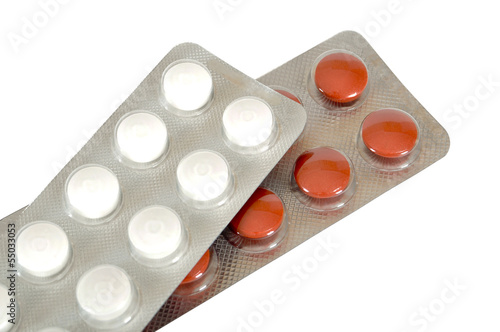 Packaged pills