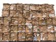 回収された古紙