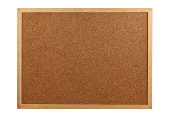 empty cork board