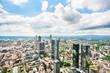 Panoramic view of Frankfurt am Main, Germany