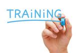 Fototapety Training Blue Marker