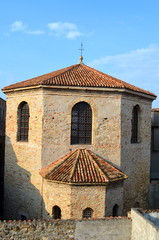 Baptistery of Santa Eufemia Cathedral in Grado, Italy