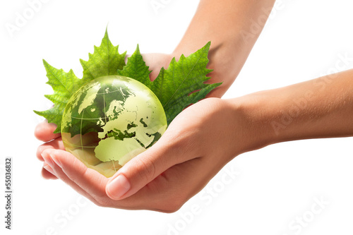 green world in the hands - europe - sustainable Development