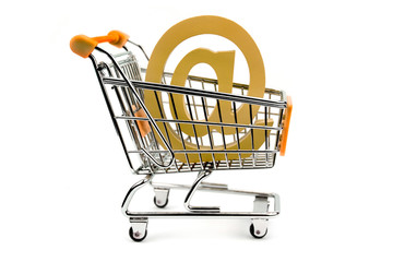 E- mail sign in shopping cart