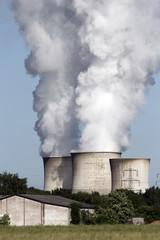 Brown coal power plant