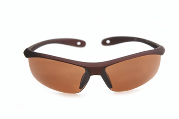 trendy brown sunglasses