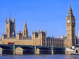 London, Parliament Building and Westminster Bridge