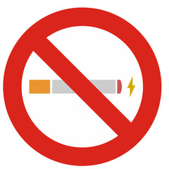 Cigarette électronique (Interdiction)