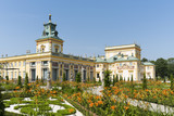 Royal Palace Wilanow in Warsaw, Poland