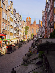 Colorful houses of Gdansk, Poland
