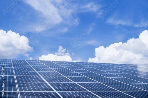Photovoltaik Modulfläche - 55042812