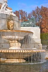 Madrid - Plaza de Oriente - Fontana - Acqua