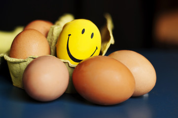 Egg smiley