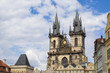 Prague, Town Square and Church of our Lady Tyn