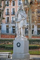 Madrid - Plaza de Oriente - Statua