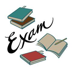 Exam books