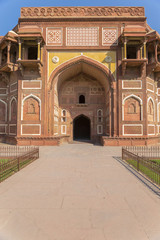 Entrance to the palace in Agra fort