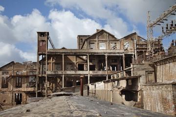 Derelict mining in Iglesias (Sardinia,Italy)