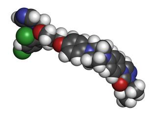 Itraconazole antifungal drug (triazole class)