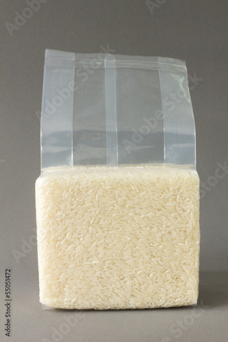 Rice pack isolated