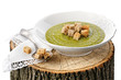 Lenten green pea soup