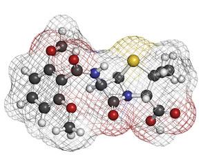 Meticillin antibiotic drug (beta-lactam class).