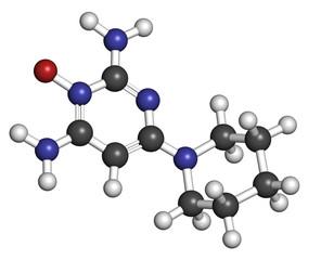 Minoxidil male pattern baldness (androgenic alopecia) drug