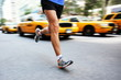 Running in New York City - man city runner
