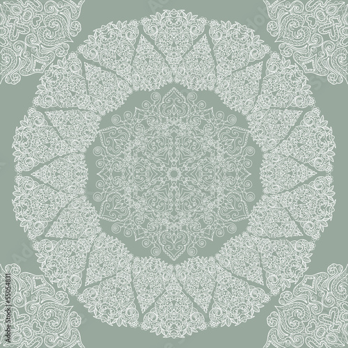 Beautiful seamless lace pattern