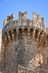 Tower of the Knights Grand Master Palace. Rhodes.