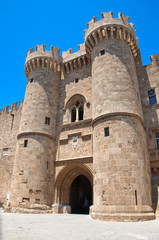 Knights Grand Master Palace. Rhodes Island, Greece.