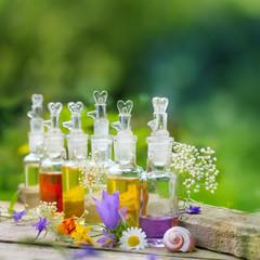 Wellness mit duftenden Pflegeprodukten