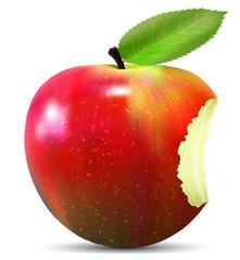 Jablko z tlem